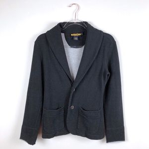 Rugby by Ralph Lauren Cowl Neck Sweater Blazer XS